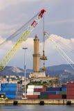 Lighthouse of Genoa Stock Photography