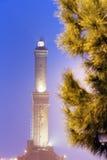 Lighthouse of Genoa Stock Image