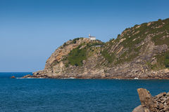 Lighthouse of Getaria Royalty Free Stock Image