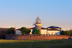 Lighthouse in Getxo Stock Images