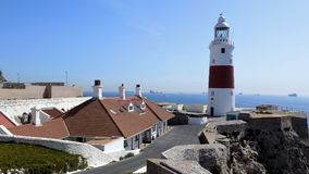 Lighthouse of Gibraltar Stock Photography