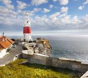 Lighthouse, Gibraltar Stock Photos