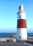 The Lighthouse of Gibraltar. The most southern point of Gibraltar royalty free stock photos