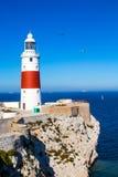 Lighthouse at Gibraltar Royalty Free Stock Photos