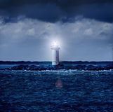 Lighthouse Glowing Royalty Free Stock Image