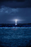 Lighthouse Glowing Stock Photography