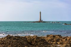 Goury lighthouse Royalty Free Stock Photography