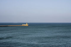 Lighthouse. In Grand Harbour (Valletta, Malta Royalty Free Stock Image