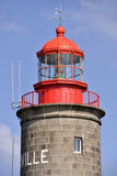 Lighthouse of Granville in France Royalty Free Stock Photo