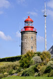 Lighthouse of Granville in France Stock Photo