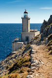 Lighthouse in Greece Royalty Free Stock Photos