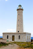Lighthouse of Gytheio in Greece Stock Images