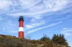 Lighthouse at Hörnum, Sylt stock image