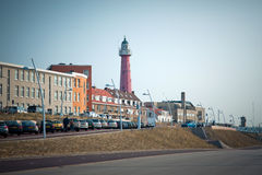 Lighthouse in Hague Royalty Free Stock Photos