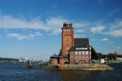 Lighthouse Hamburg Royalty Free Stock Photos