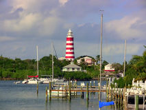 Lighthouse Harbor Stock Images