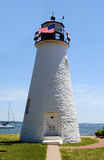 Lighthouse in Havre De Grace Royalty Free Stock Images