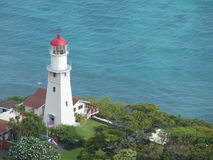 Lighthouse in Hawaii Royalty Free Stock Photo