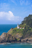 Lighthouse at Heceta Head Stock Photo