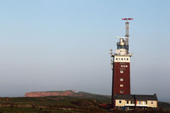 Lighthouse of Helgoland Stock Photo