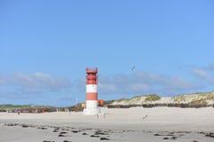 Lighthouse Helgoland stock image