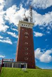 Lighthouse on Helgoland Royalty Free Stock Photos