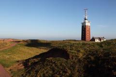 Lighthouse on Heligoland Royalty Free Stock Images