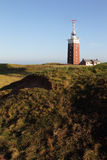 Lighthouse on Heligoland Royalty Free Stock Photography
