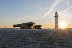 Lighthouse Hellevoetsluis Royalty Free Stock Images