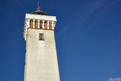 Lighthouse in Helnaes Denmark Royalty Free Stock Image