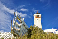 Lighthouse in Helnaes Denmark Stock Photography