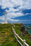 The Lighthouse in HIGASHI HENNA Cape, Okinawa Prefecture/Japan Royalty Free Stock Image