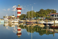Lighthouse on Hilton Head Island Royalty Free Stock Photo