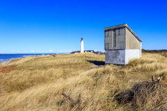 Lighthouse of Hirtshals, Denmark Royalty Free Stock Images