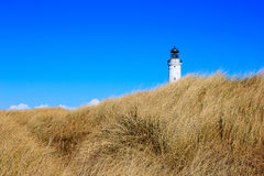 Lighthouse of Hirtshals, Denmark Royalty Free Stock Photography