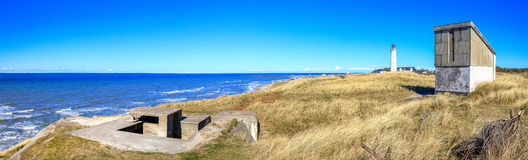 Lighthouse of Hirtshals, Denmark Stock Photography