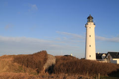 Lighthouse at Hirtshals Stock Photo