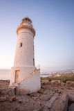 Lighthouse in historic Paphos, Cyprus Royalty Free Stock Photos