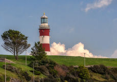 Lighthouse on the Hoe in Plymouth Royalty Free Stock Images