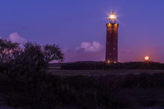 Lighthouse in Holland Stock Image