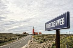 Lighthouse in Holland Royalty Free Stock Images
