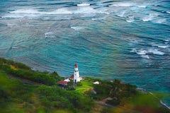 Lighthouse, Honolulu Hawaii Stock Photo