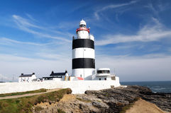 Lighthouse at Hook Head, County Wexford Stock Photo
