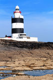 Lighthouse at Hook Head, County Wexford Stock Photography