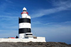 Lighthouse at Hook Head, County Wexford Royalty Free Stock Photos