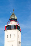 Lighthouse hotel in old town of Harlingen, Netherlands Stock Photography