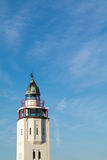 Lighthouse hotel in old town of Harlingen, Netherlands. Top of former lighthouse now hotel in historic old town of Harlingen, Friesland, Netherlands Stock Photography