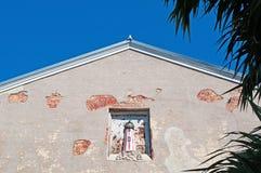Lighthouse, house decoration, home, Key West architecture, Keys, Cayo Hueso, Monroe County, island, Florida. Key West, Keys, Cayo Hueso, State of Florida stock images