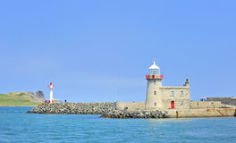 The lighthouse in howth Royalty Free Stock Photo