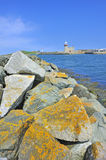 The lighthouse in howth near dublin, ireland. Shoot in summer time Stock Photography
